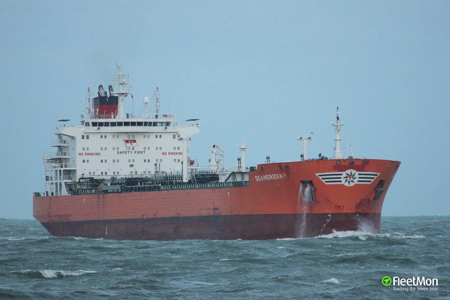 Captain of the product tanker Sea Meridian died at sea