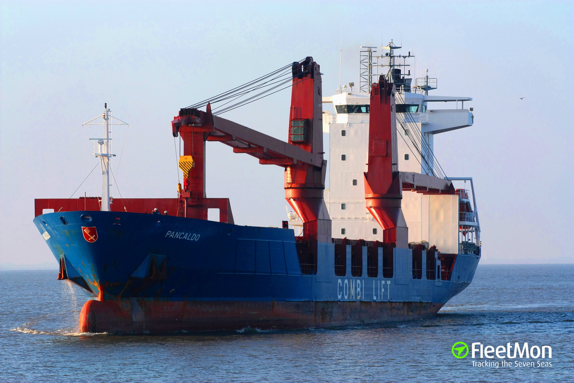 SEMELA detained in Civitavecchia after stability accident