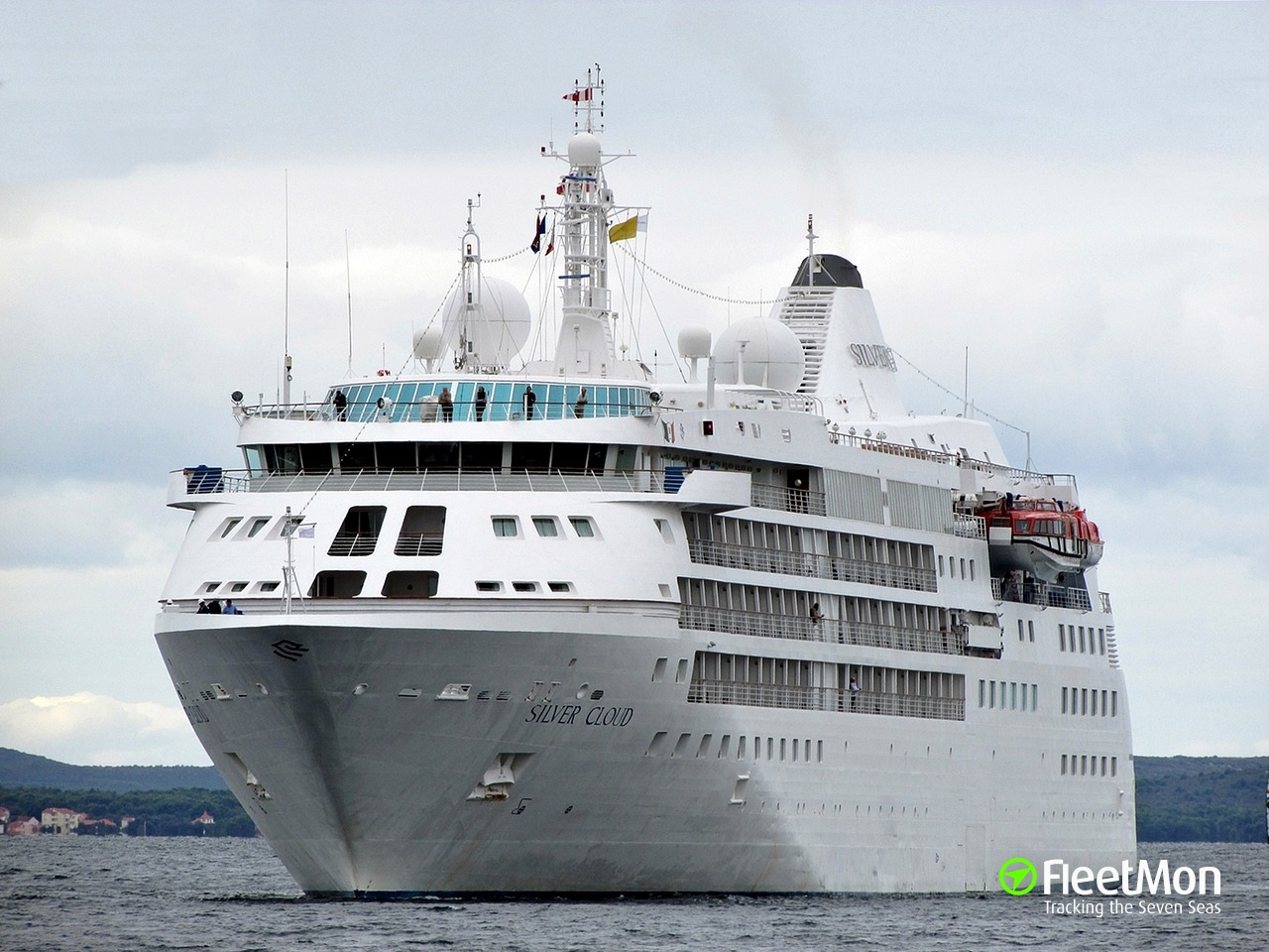 SILVER CLOUD Passenger Ship IMO - Cruise ship silver cloud