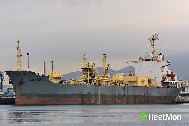 Cement carrier grounding, Greece