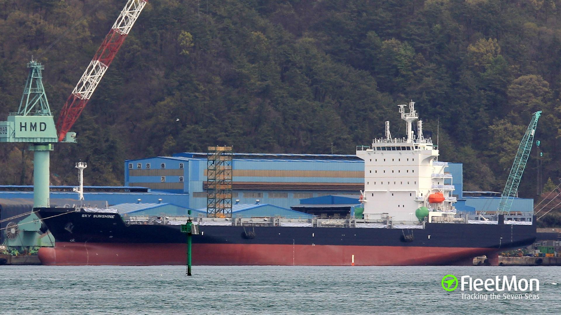 Vessel SKY SUNSHINE (Container ship) IMO 9854492, MMSI ...