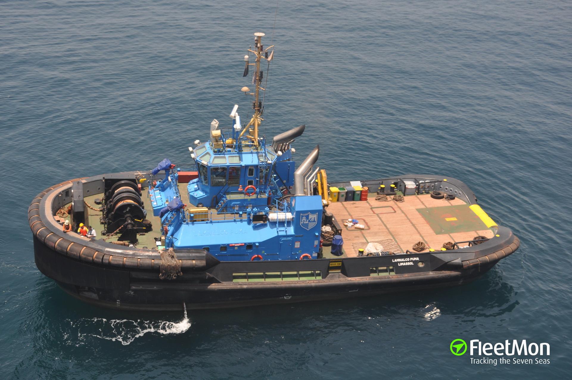 Énfasis Seguir Kenia  Vessel SL PUMA (Pusher/Tug) IMO 9600499, MMSI 209635000