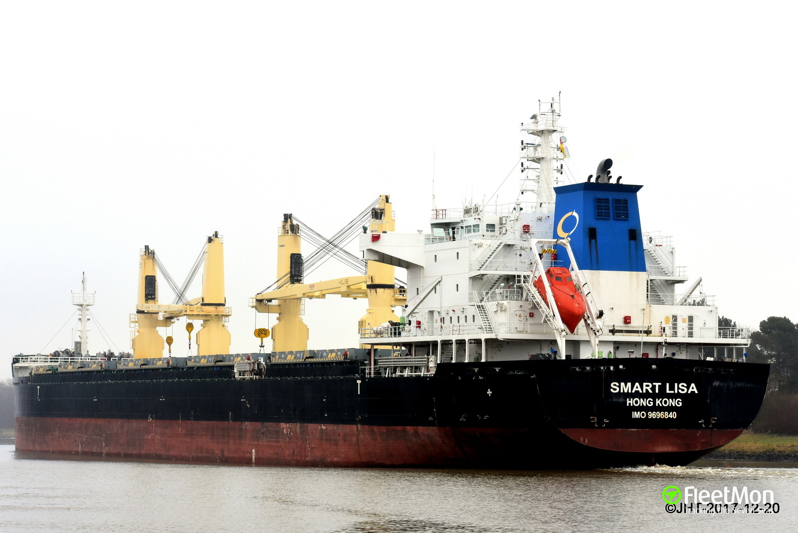 Bulk carrier SMART LISA accident