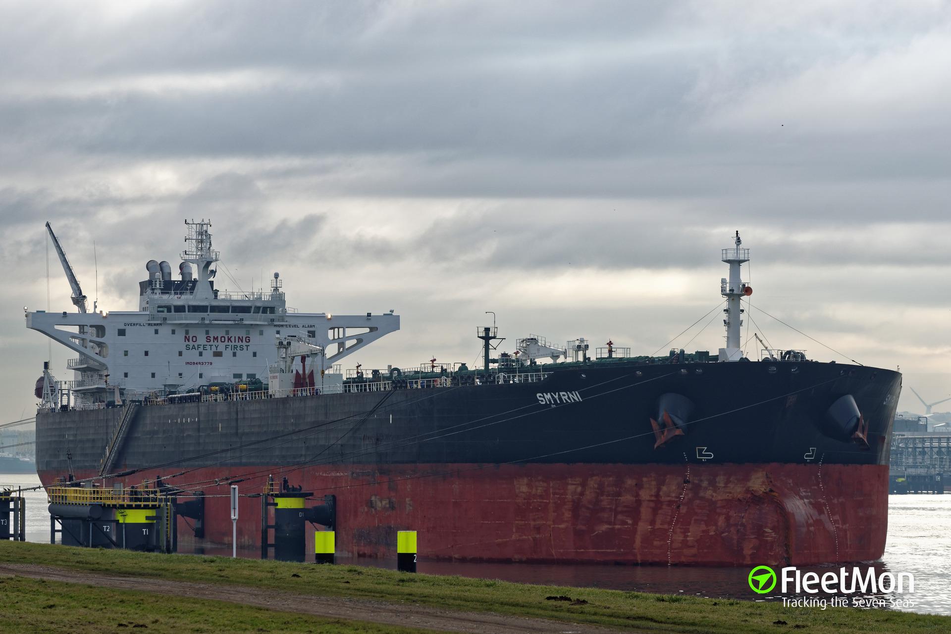 Somali pirates released suezmax tanker Smyrni and tanker Royal Grace