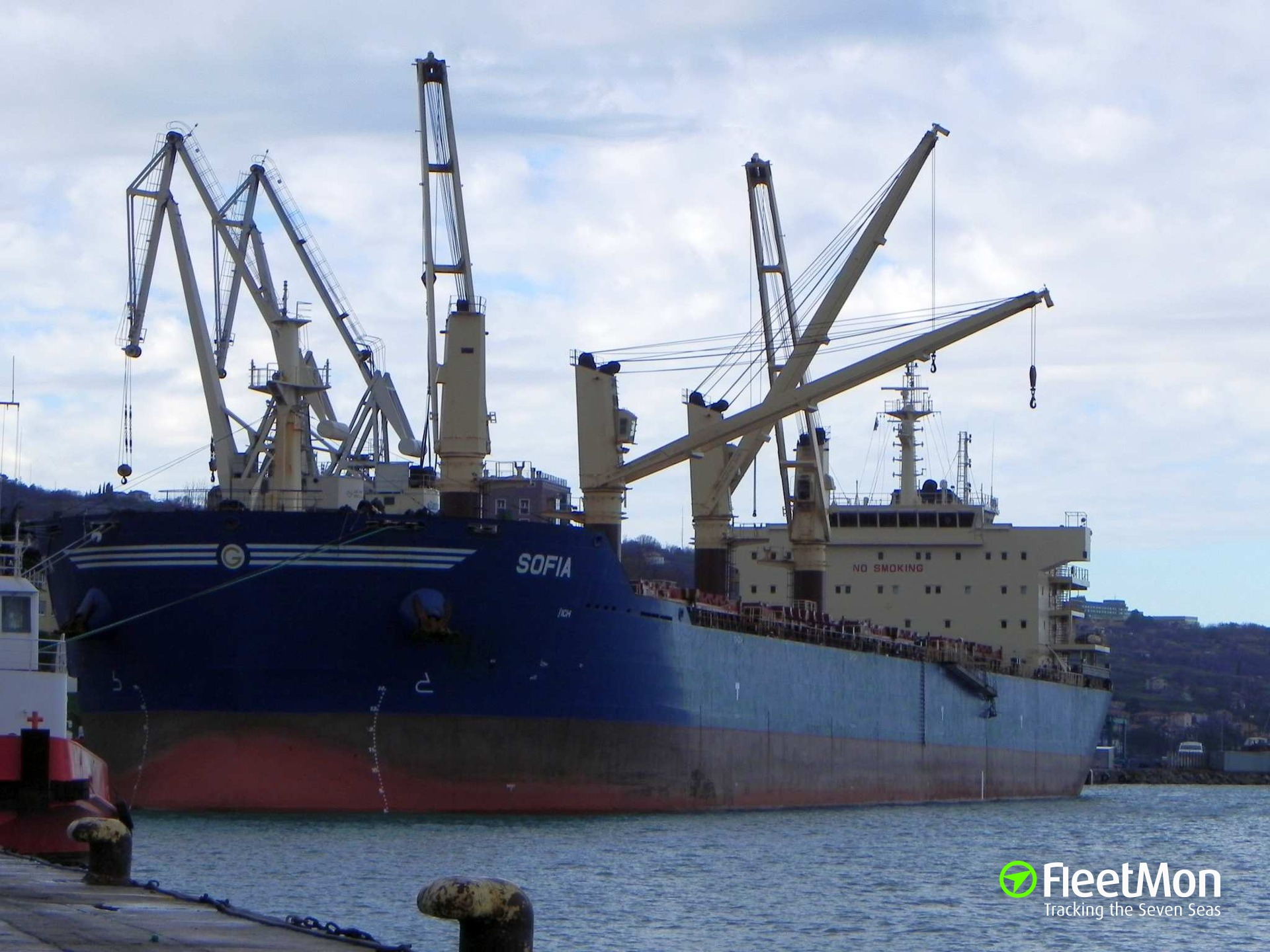 Bulk carrier SOFIA attacked, fired upon, crew safe