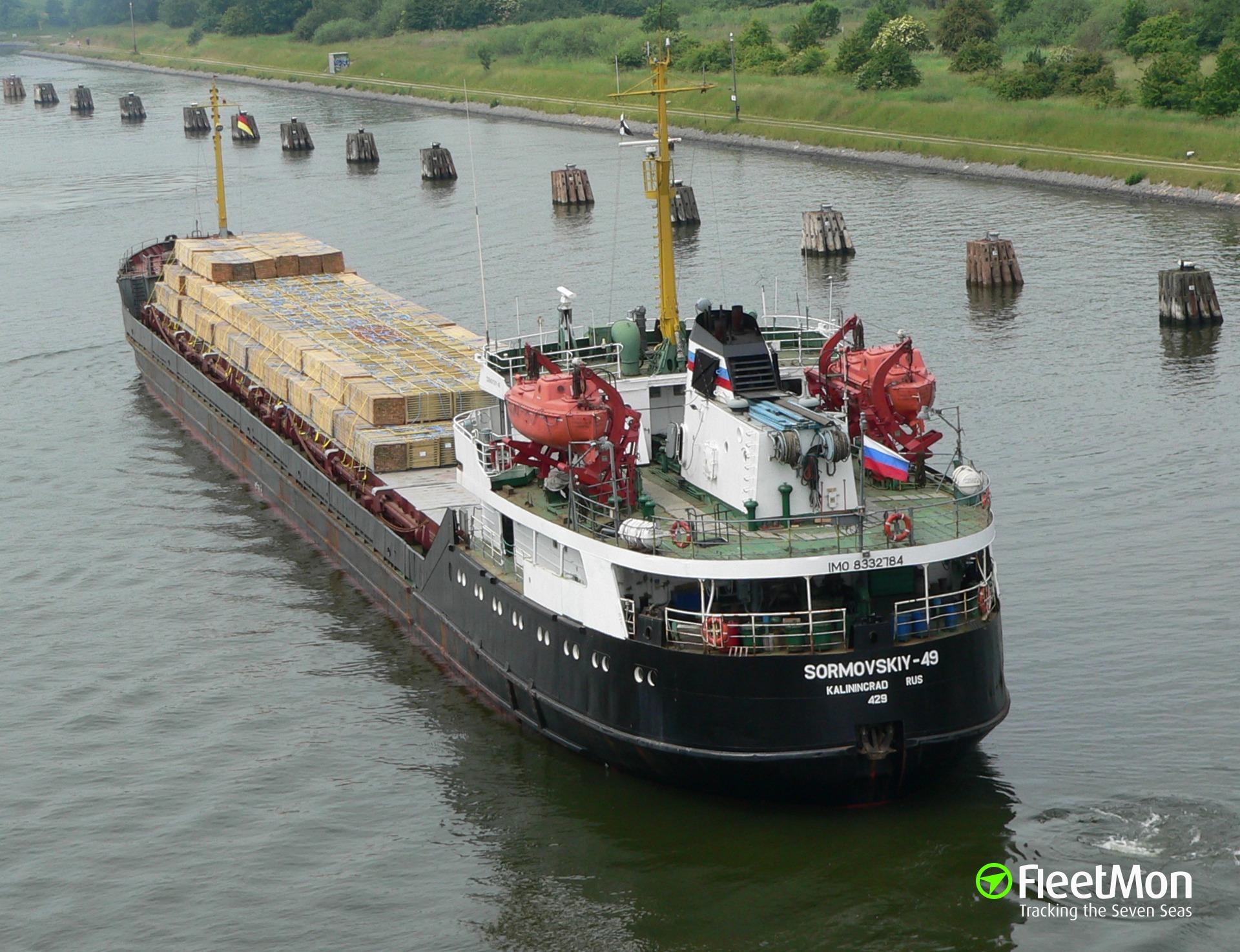 General cargo vessel SORMOVSKIY 49