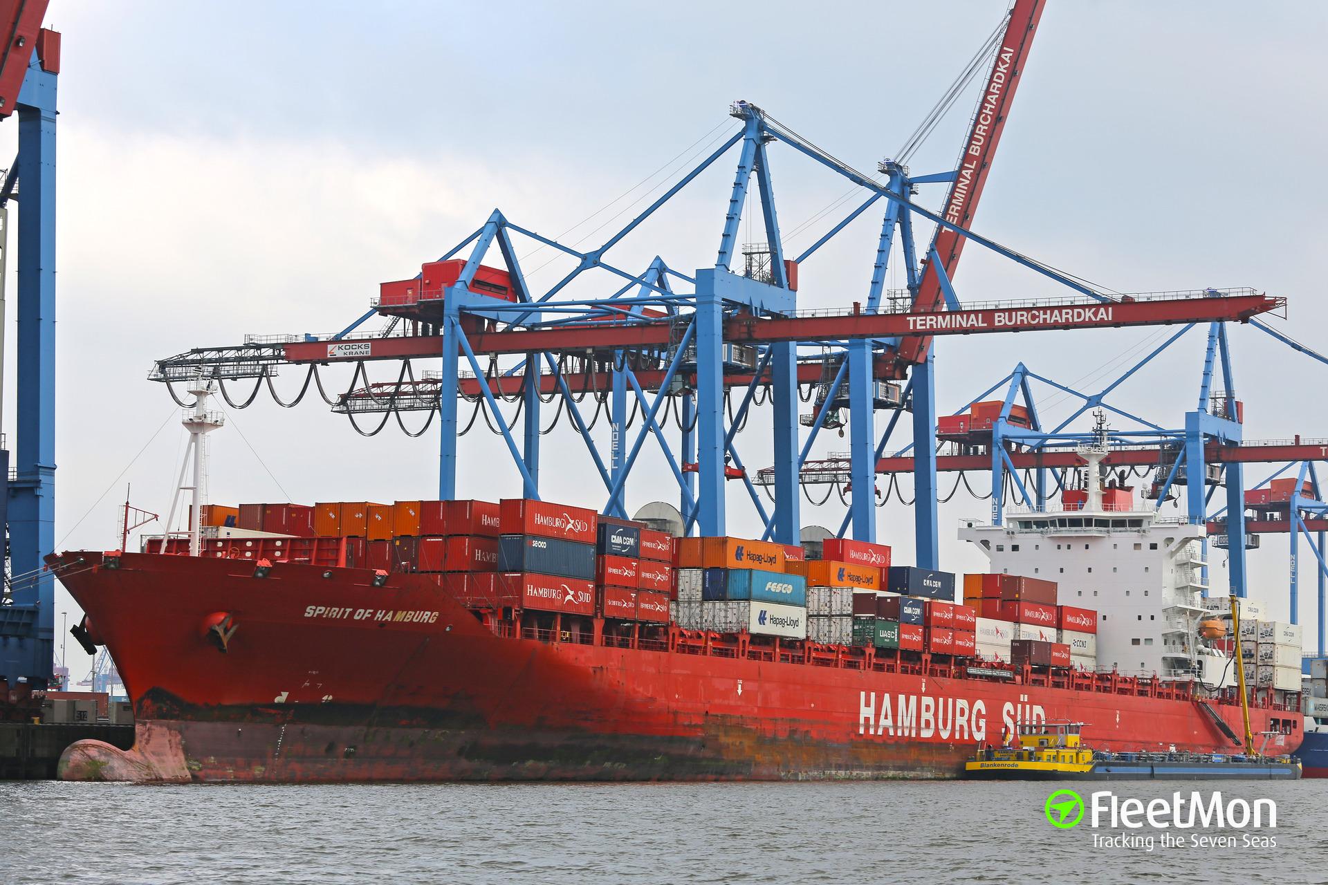 Capitán de buque de Hamburg Süd muere tras riña con su tripulación filipina en aguas colombianas
