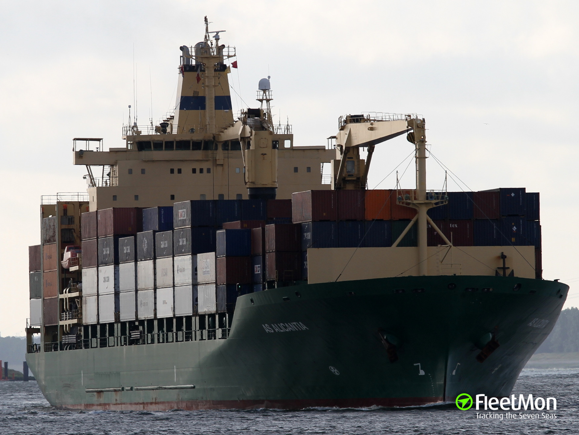 Container ship Spirit of Manila third officer died