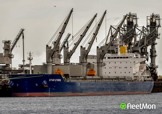 Bulk carrier grounding, Rosario