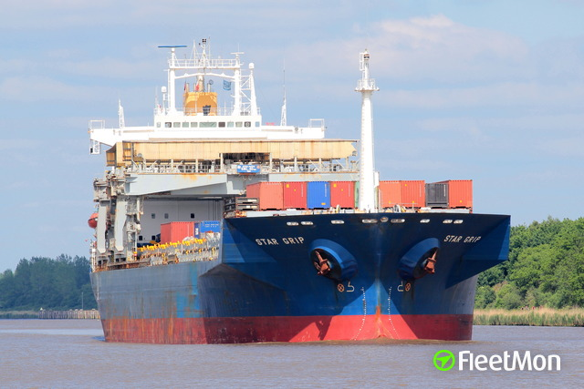 Breakaway bulk carrier contacted berthed bulk carrier, Brake
