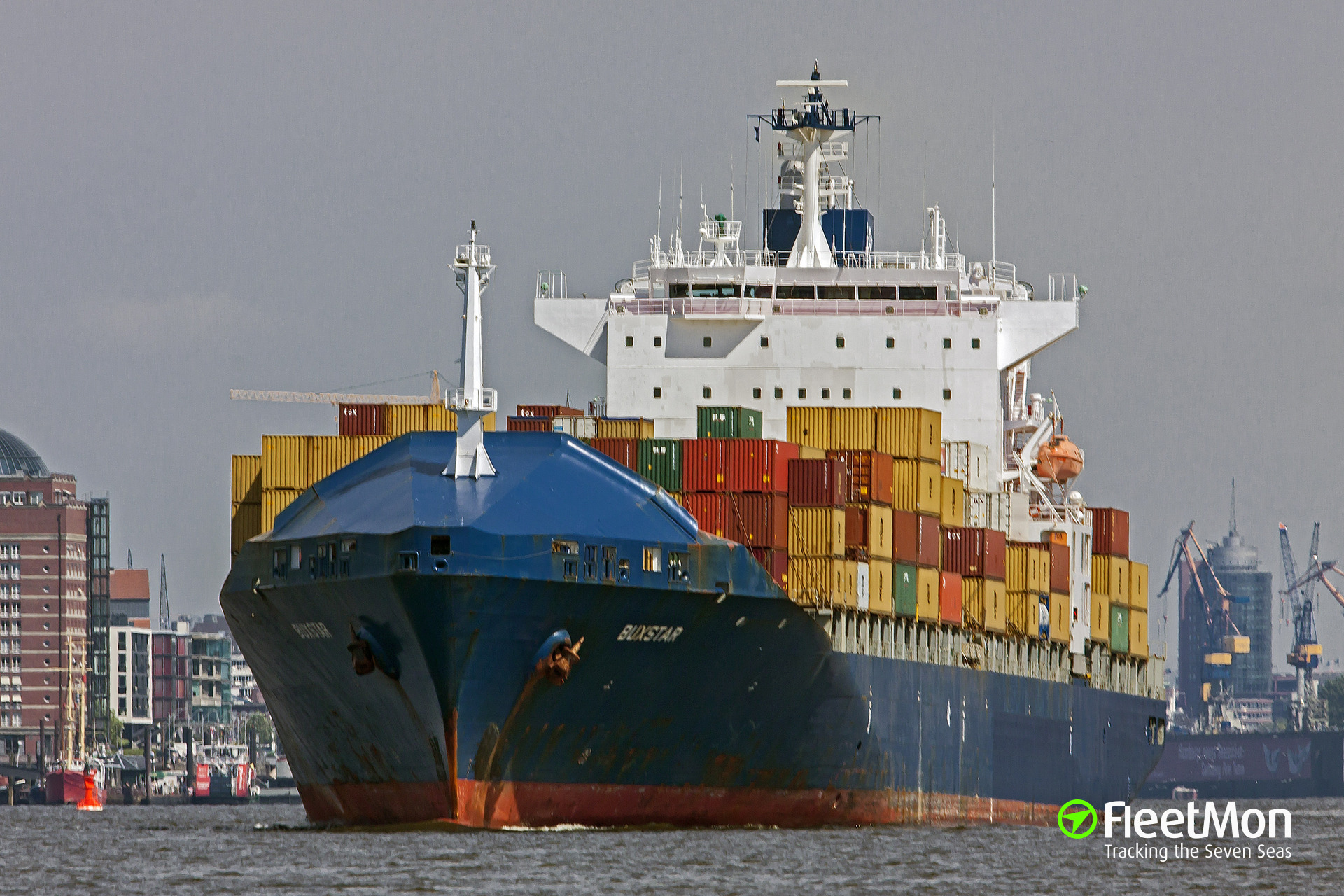 MSC PATRICIA suspect in oil spill, Portugal