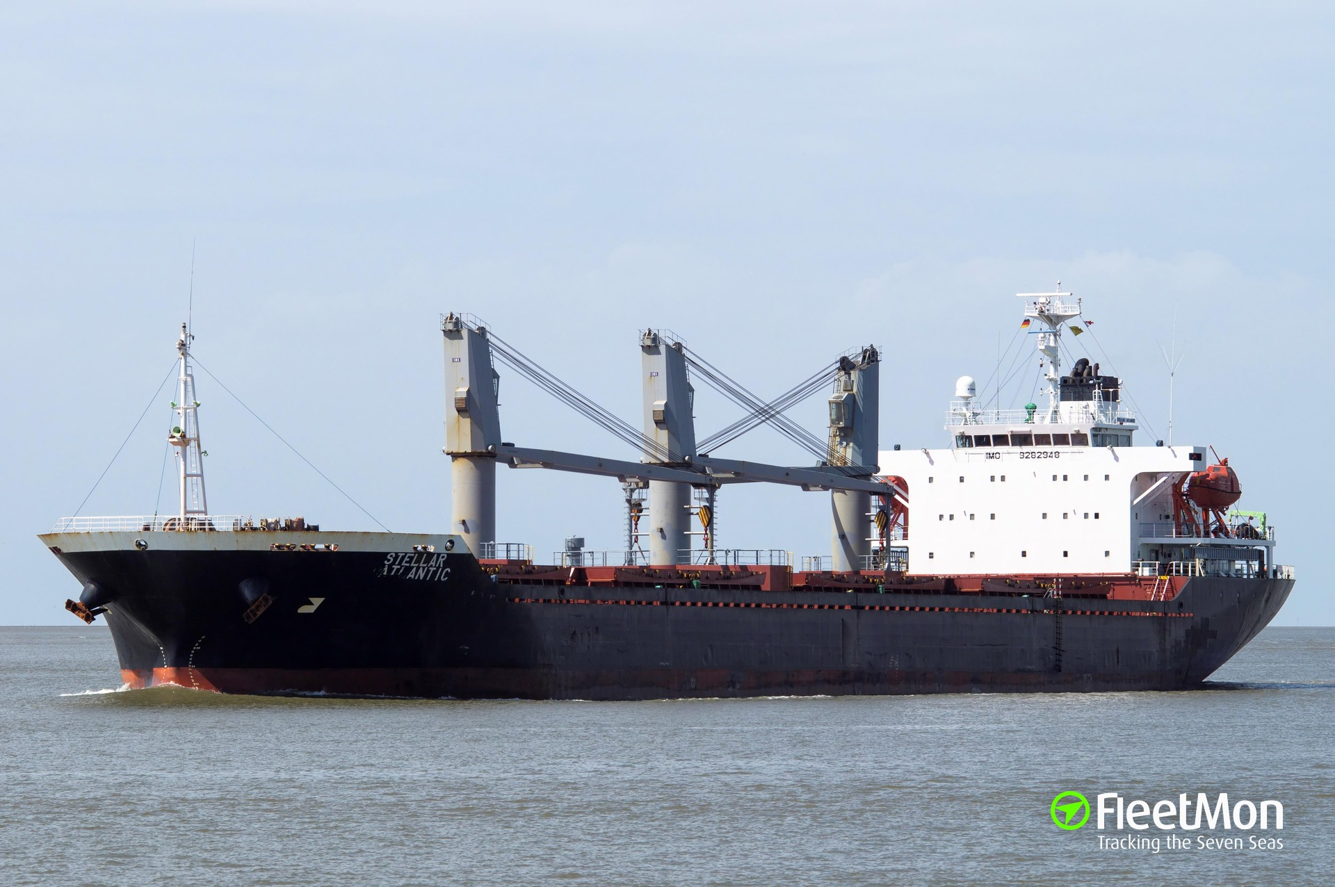 Bulk carrier lost anchor while approaching Kaliningrad, Baltic sea