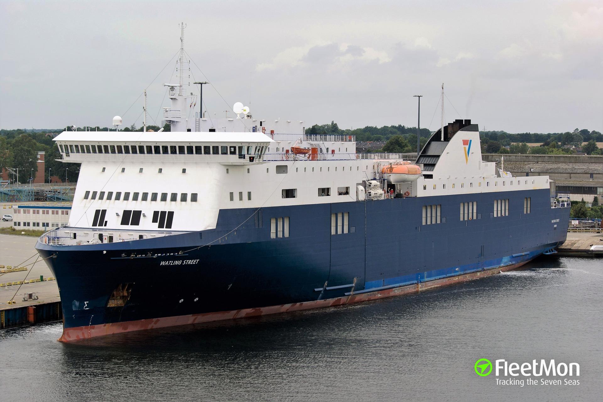 Ferry STENA FLAVIA troubled, taken off service