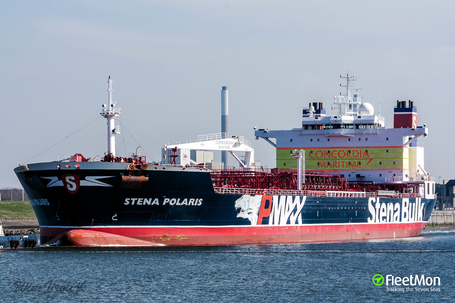 Tanker STENA POLARIS sailing the Arctic North-East Route