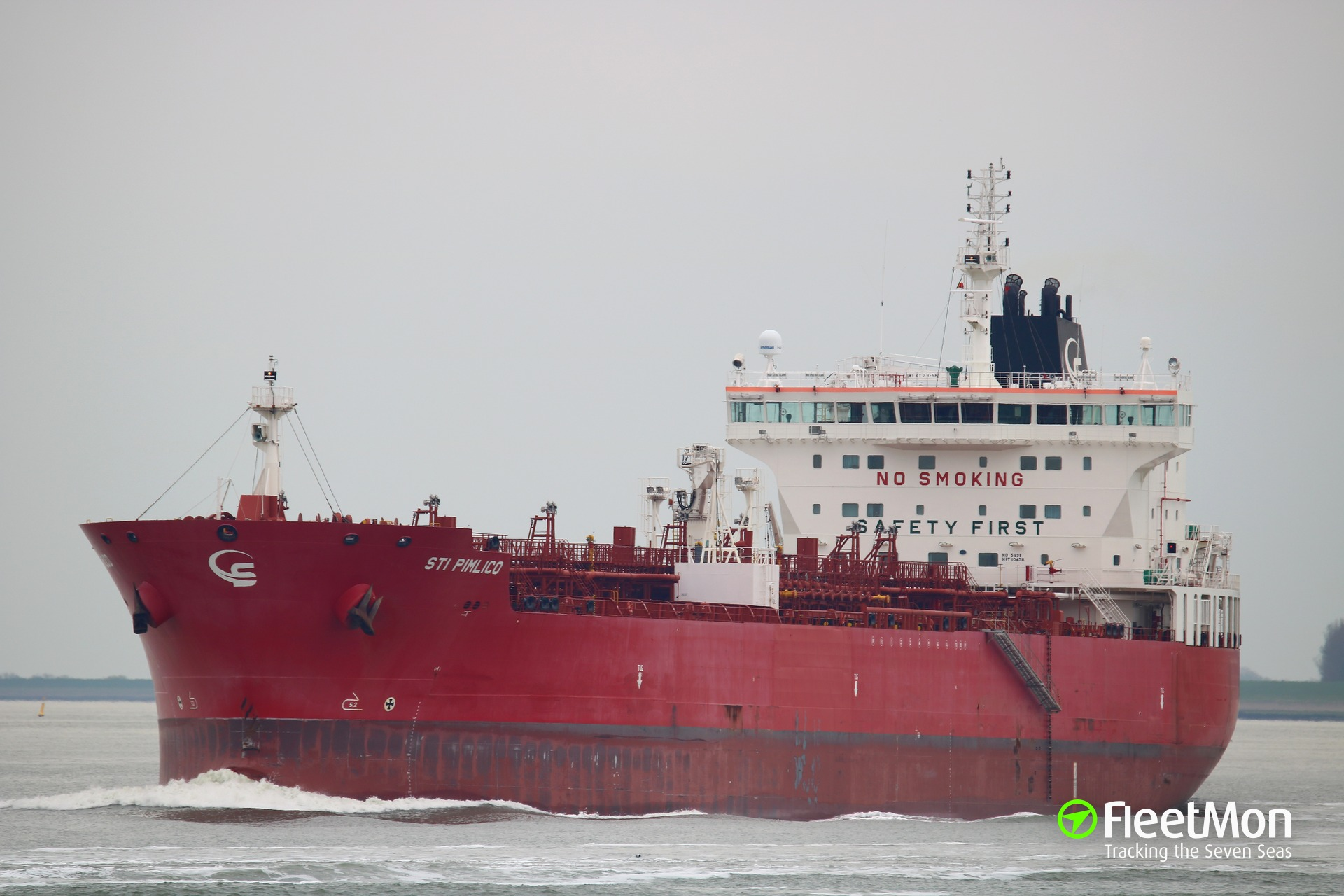 Statement of technical manager of product tanker STI Pimlico