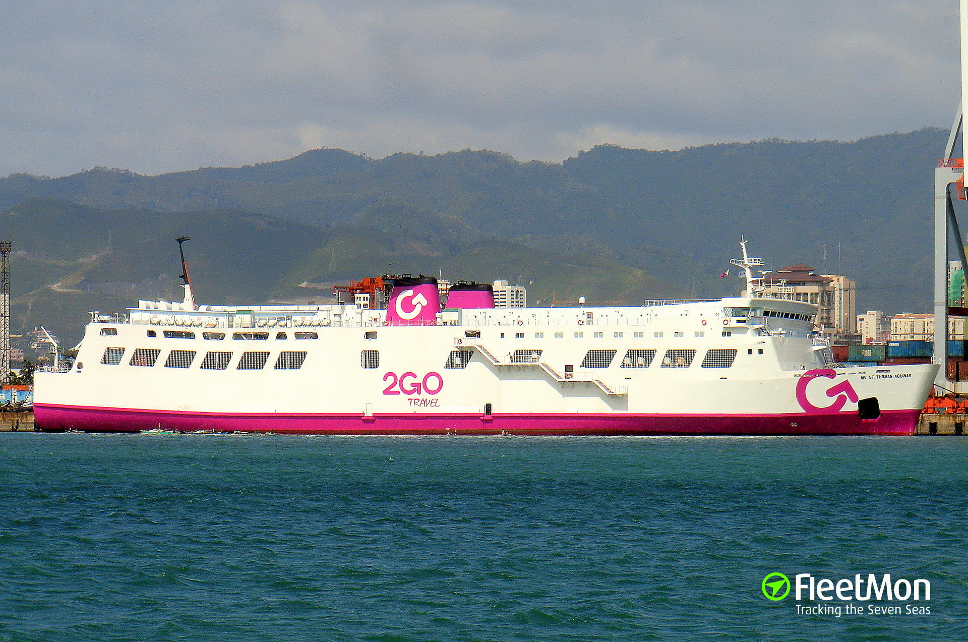 Ferry St. Thomas of Aquinas sank after collision with m/v Sulpicio Express 7, Philippines