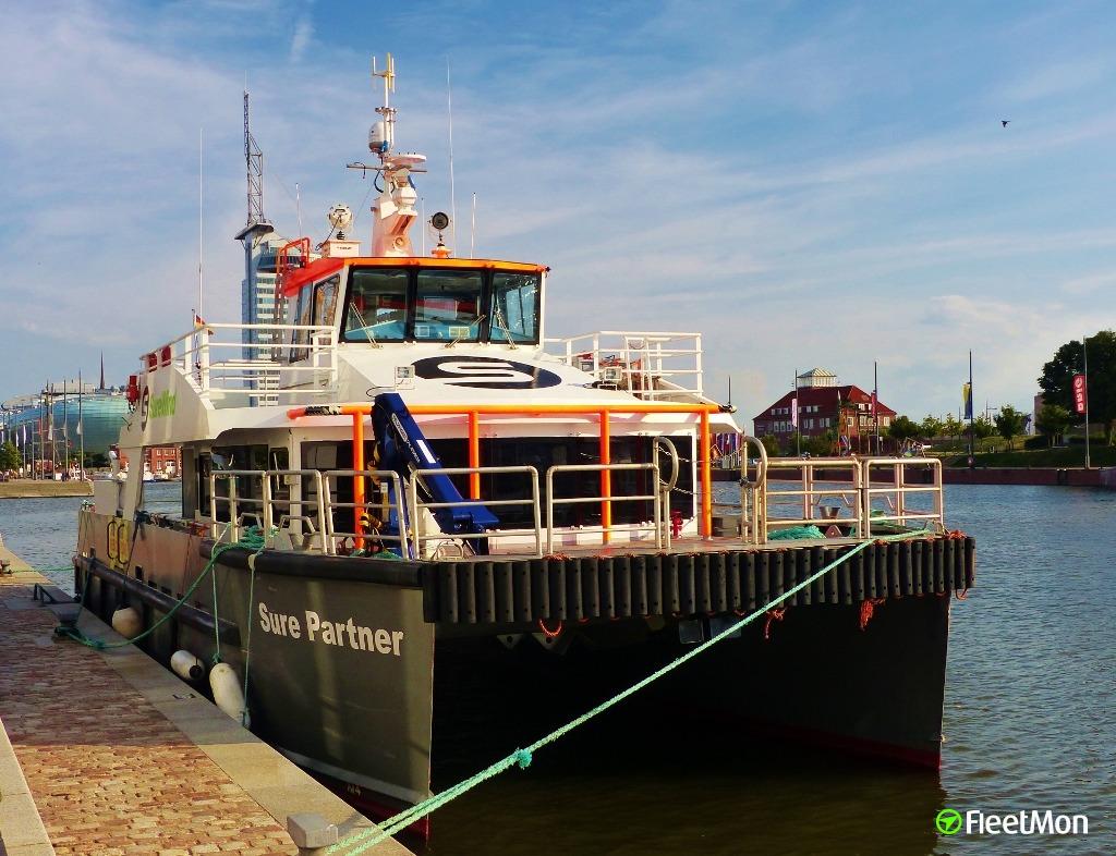 Vessel SURE PARTNER (Offshore Installation/Maintenance/Repair) IMO
