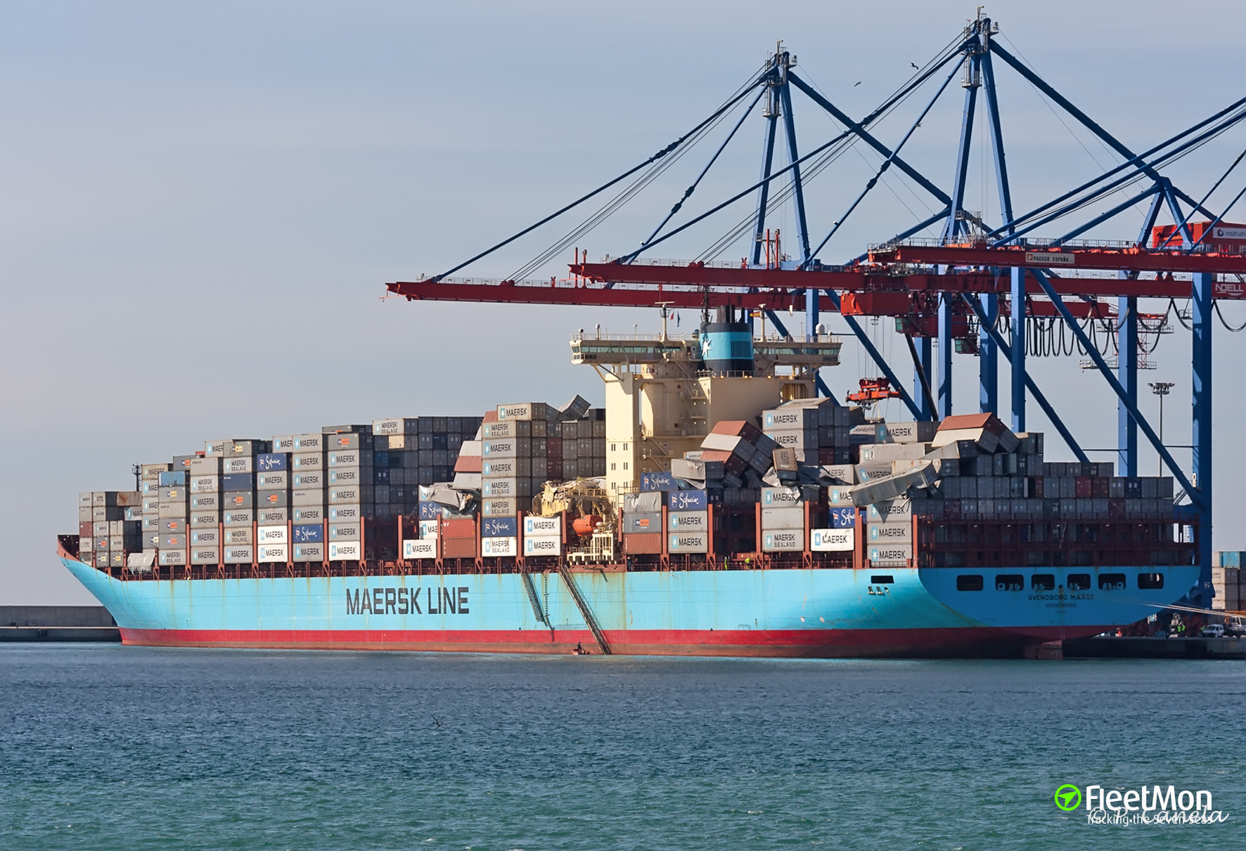 ​Update: Maersk Container with 11 Million Cigarettes washed ashore on British coast