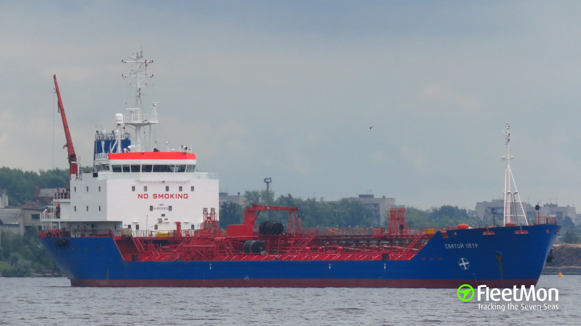 Tankers SVYATOY PETR and SVYATOY PAVEL allided in Northern Sea Route
