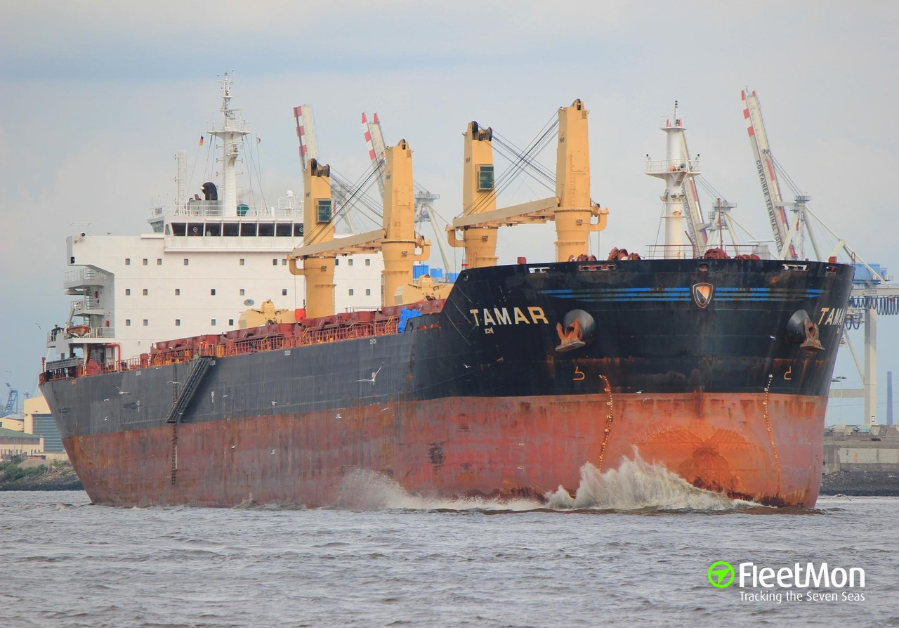 Bulk carrier TAMAR explosion Apr 27 Update