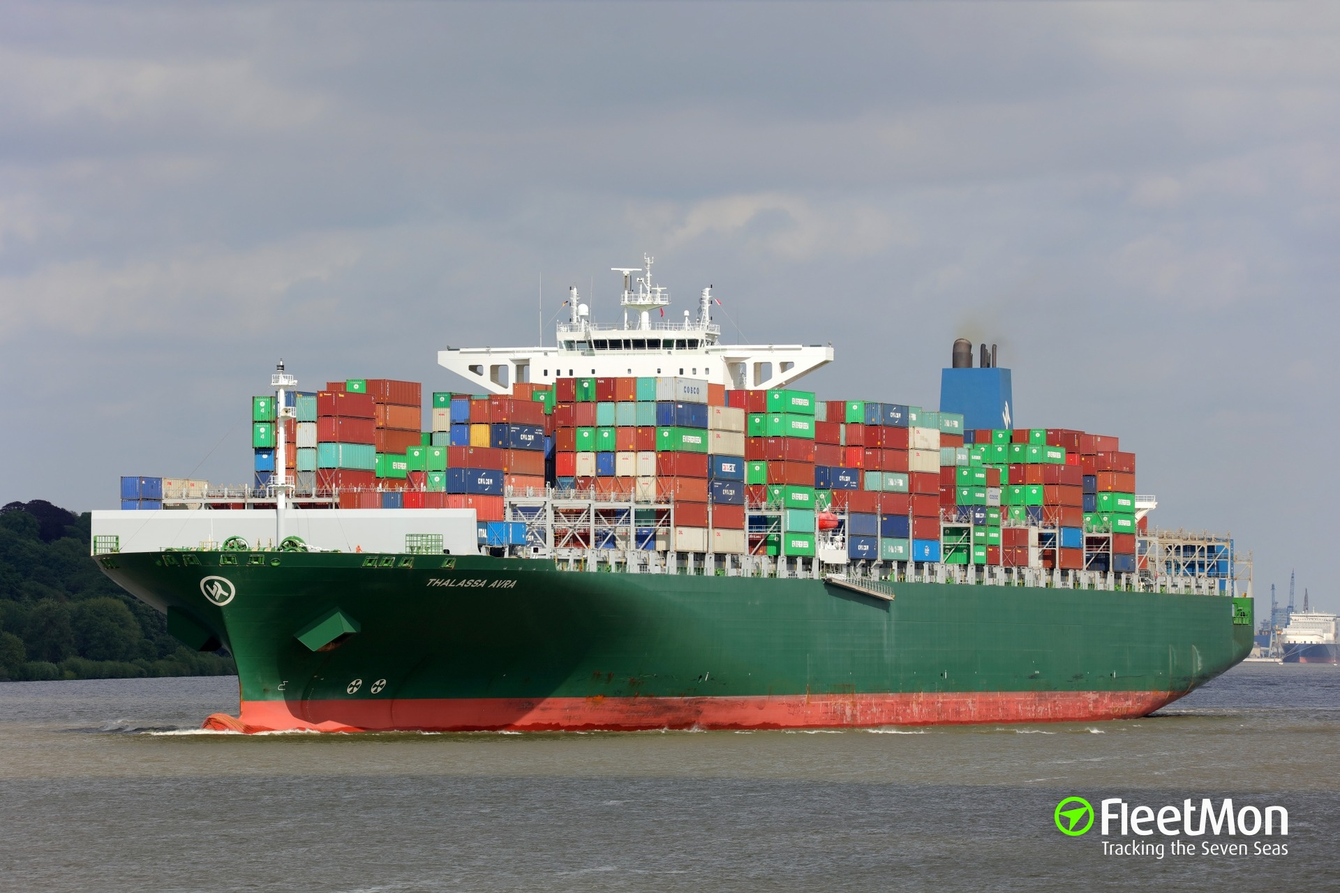 ​Evergreen's mega liners visited Hamburg