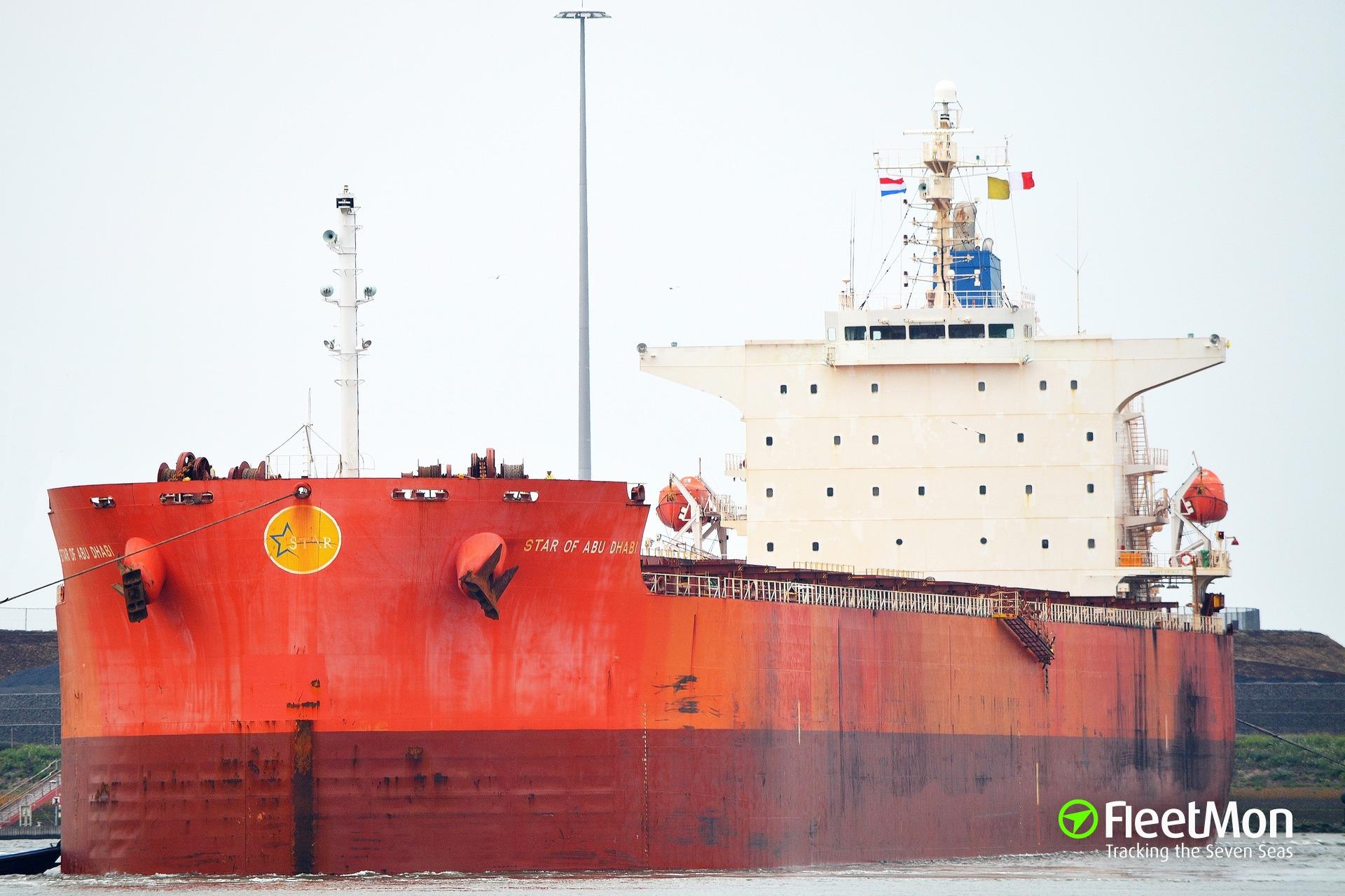 Bulk carrier STAR OF ABU DABI