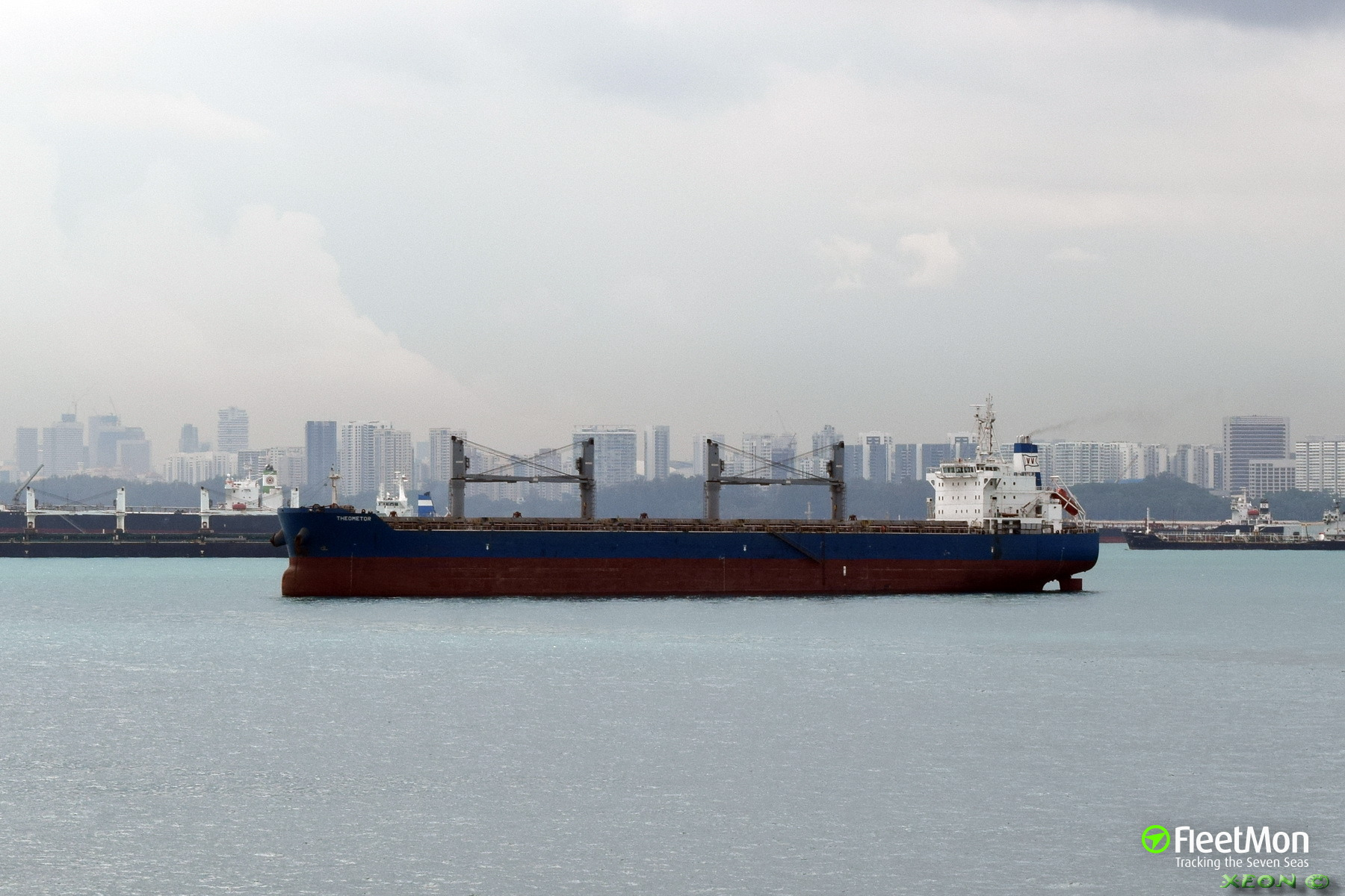 Greek bulk carrier detained in Paradip by court