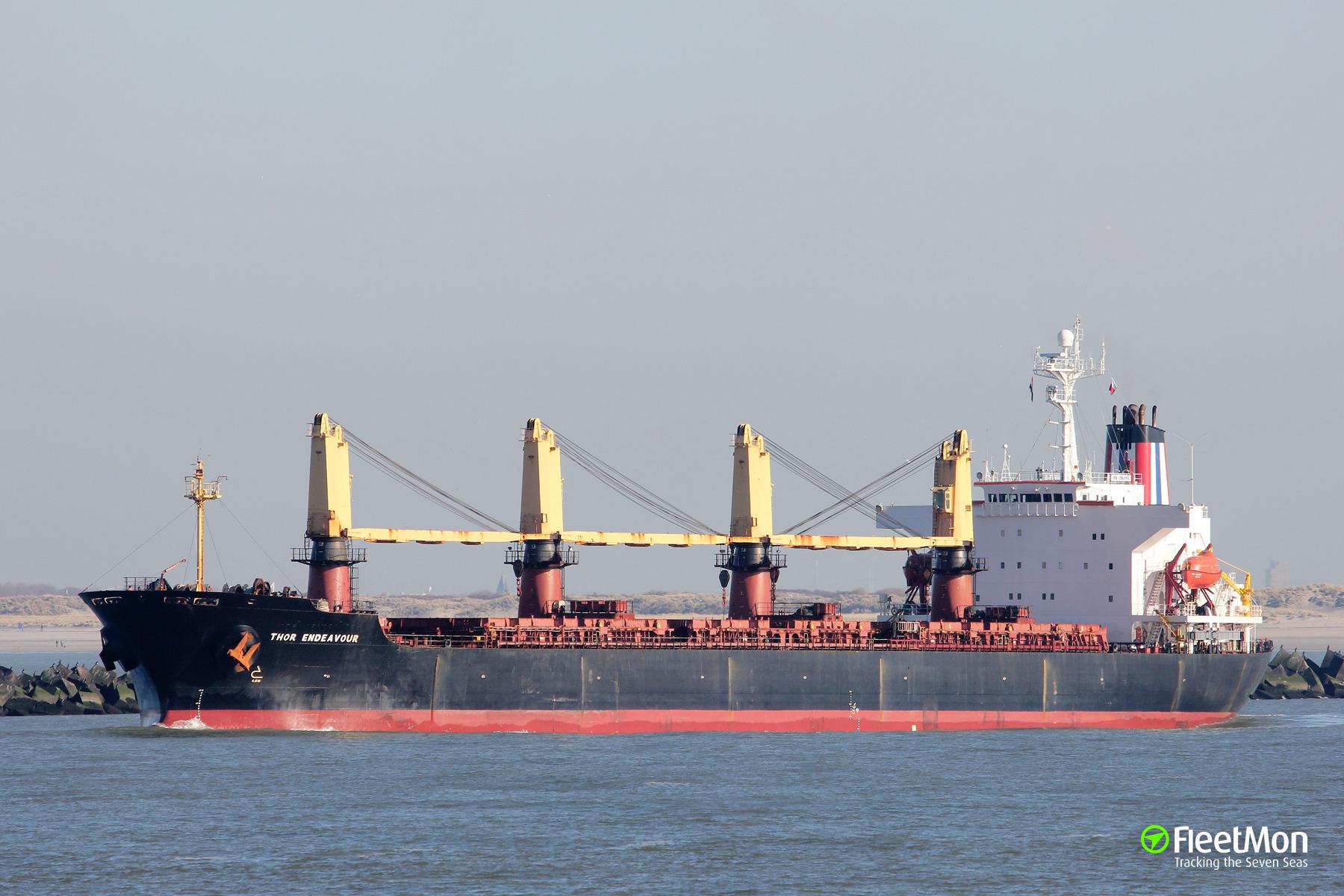 Mysterious arrest of fugitive Thoresen bulk carrier in Sri Lanka