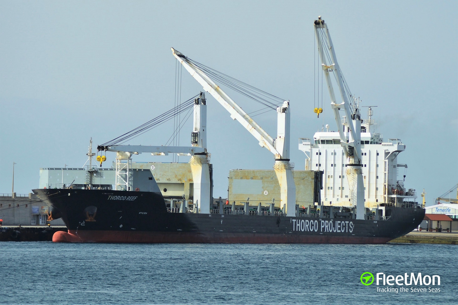 General cargo vessel Safmarine Sahel attacked near Bonny Fairway Buoy
