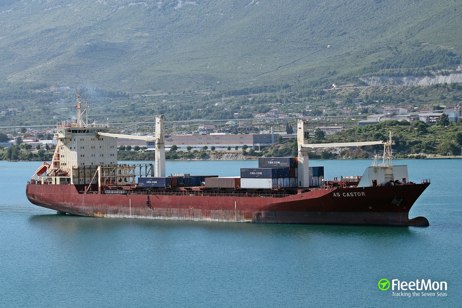 German boxship arrested in Guinea. Or hijacked?