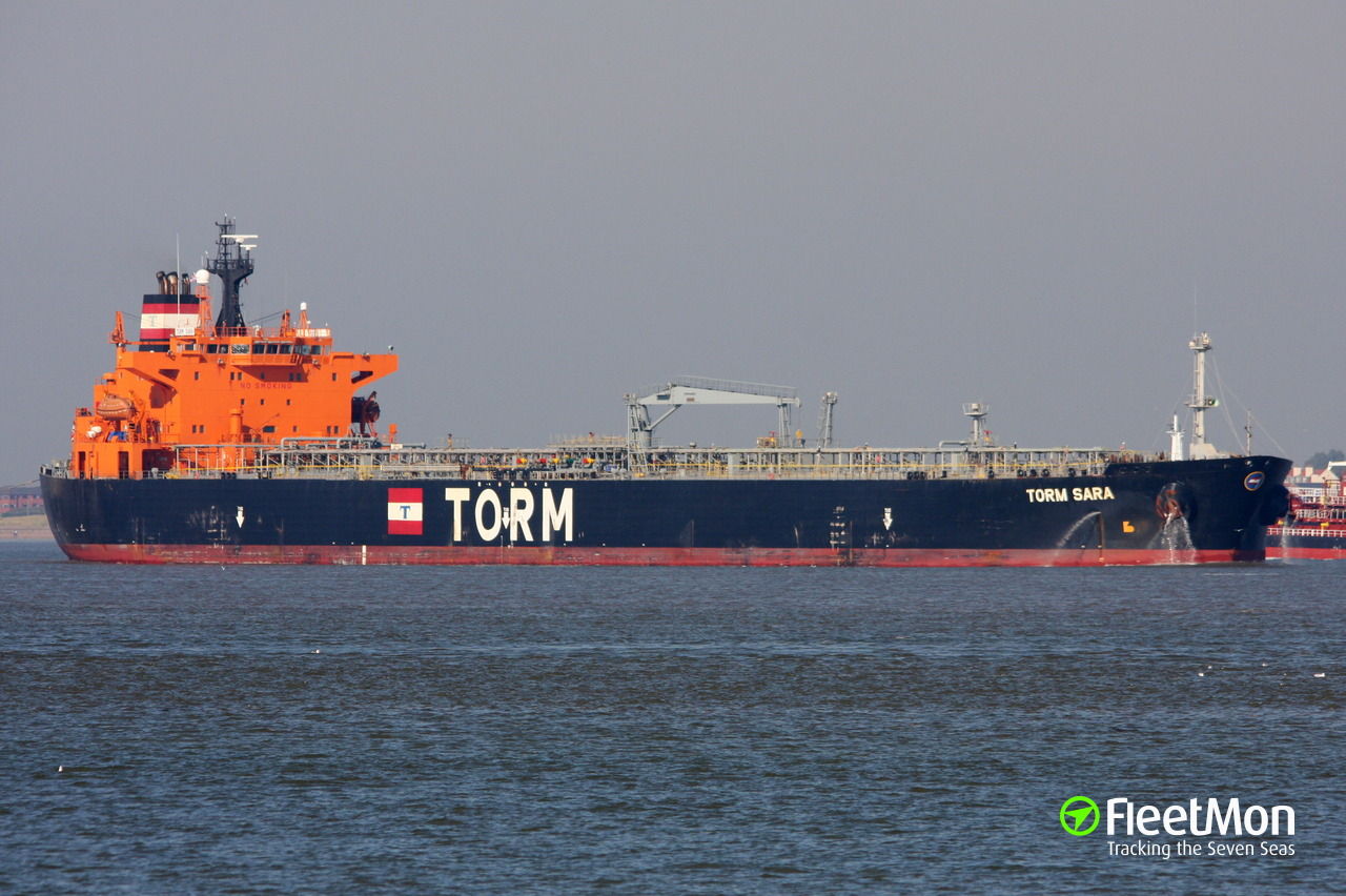 Vessel TORM SARA (Oil Products Tanker) IMO 9273260, MMSI 564111000