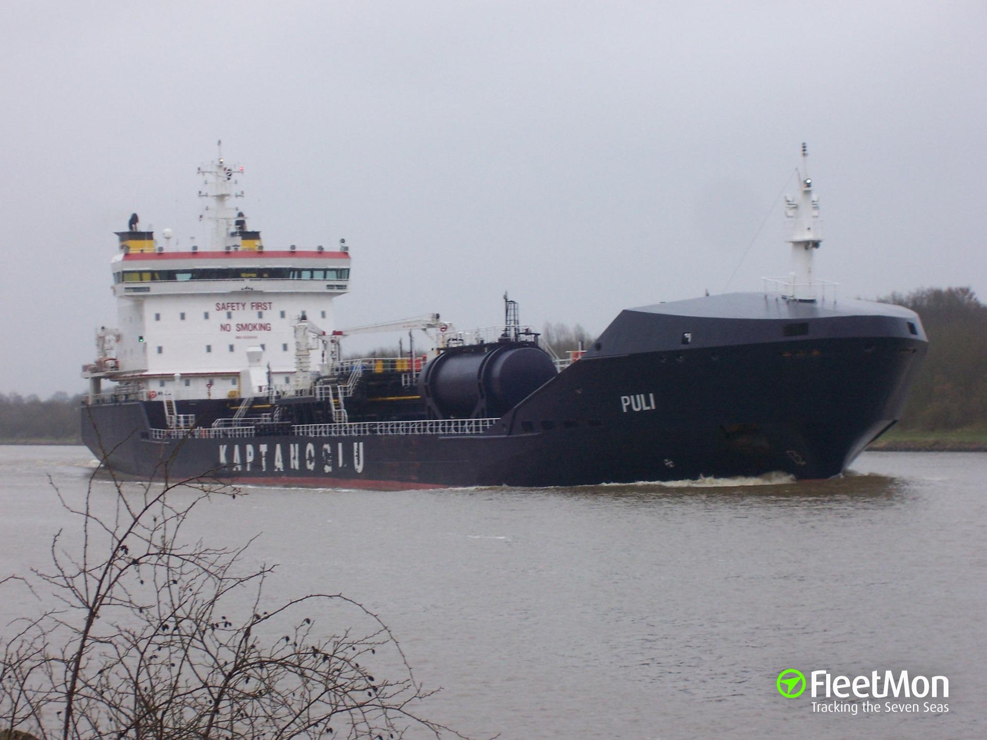 Turkish tanker PULI attacked, 6 crew taken hostages, Nigeria