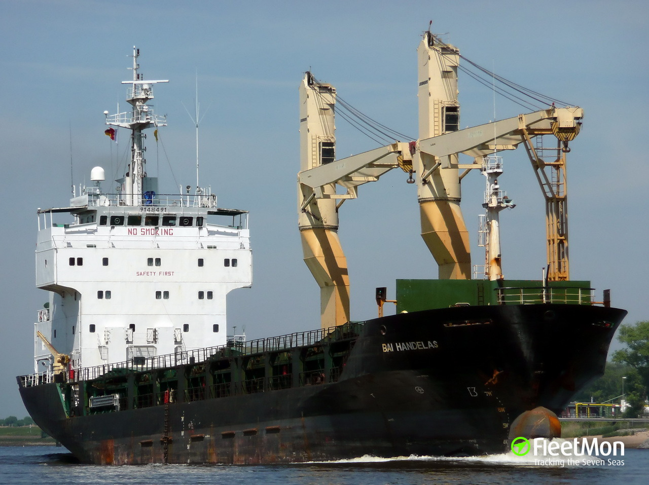 General cargo vessel Tuna 1 shelled in Libyan waters, 1 dead