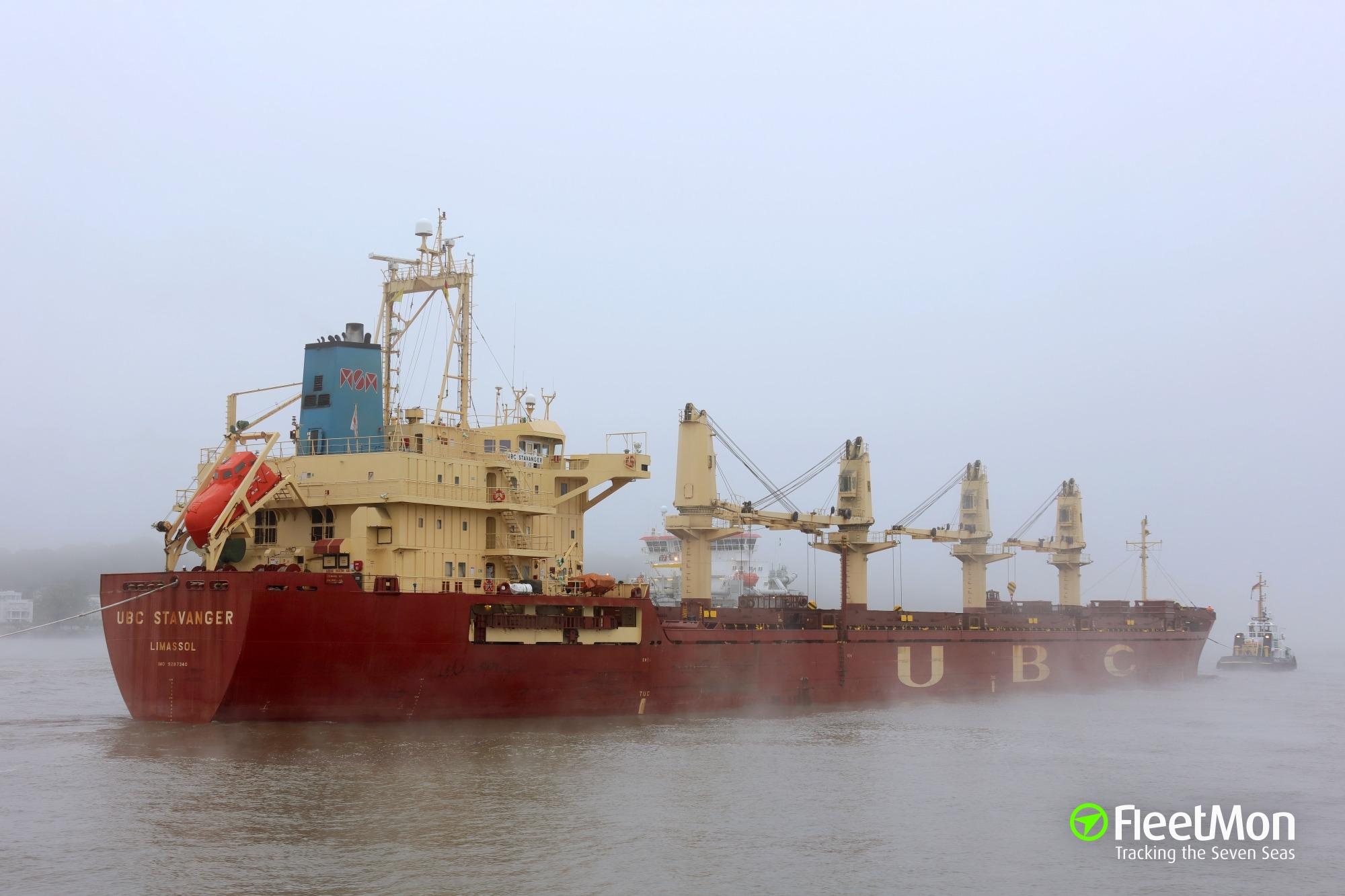 Msm cargo tracking - Ubc Stavanger