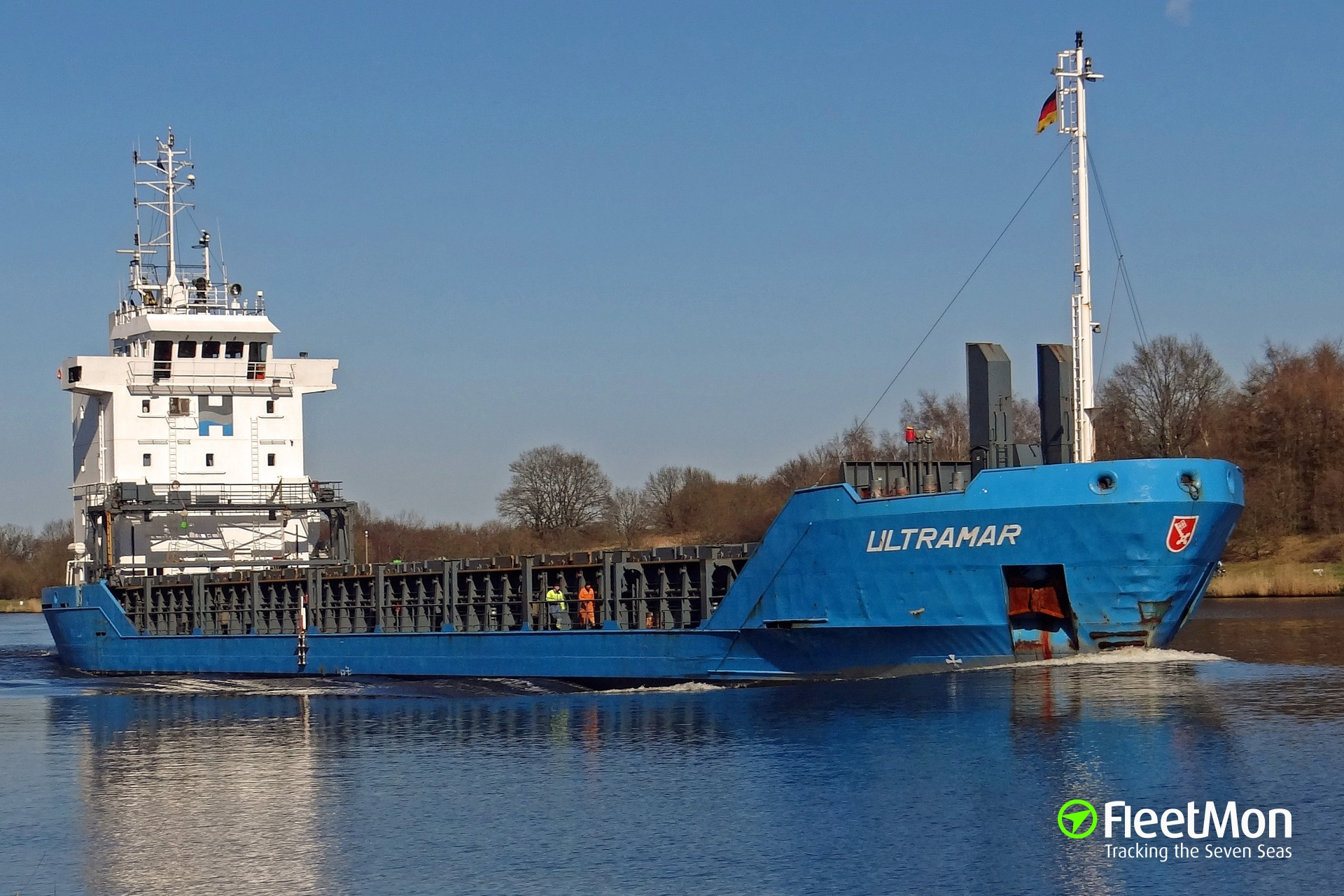 Ultramar grounding, Kiel Canal