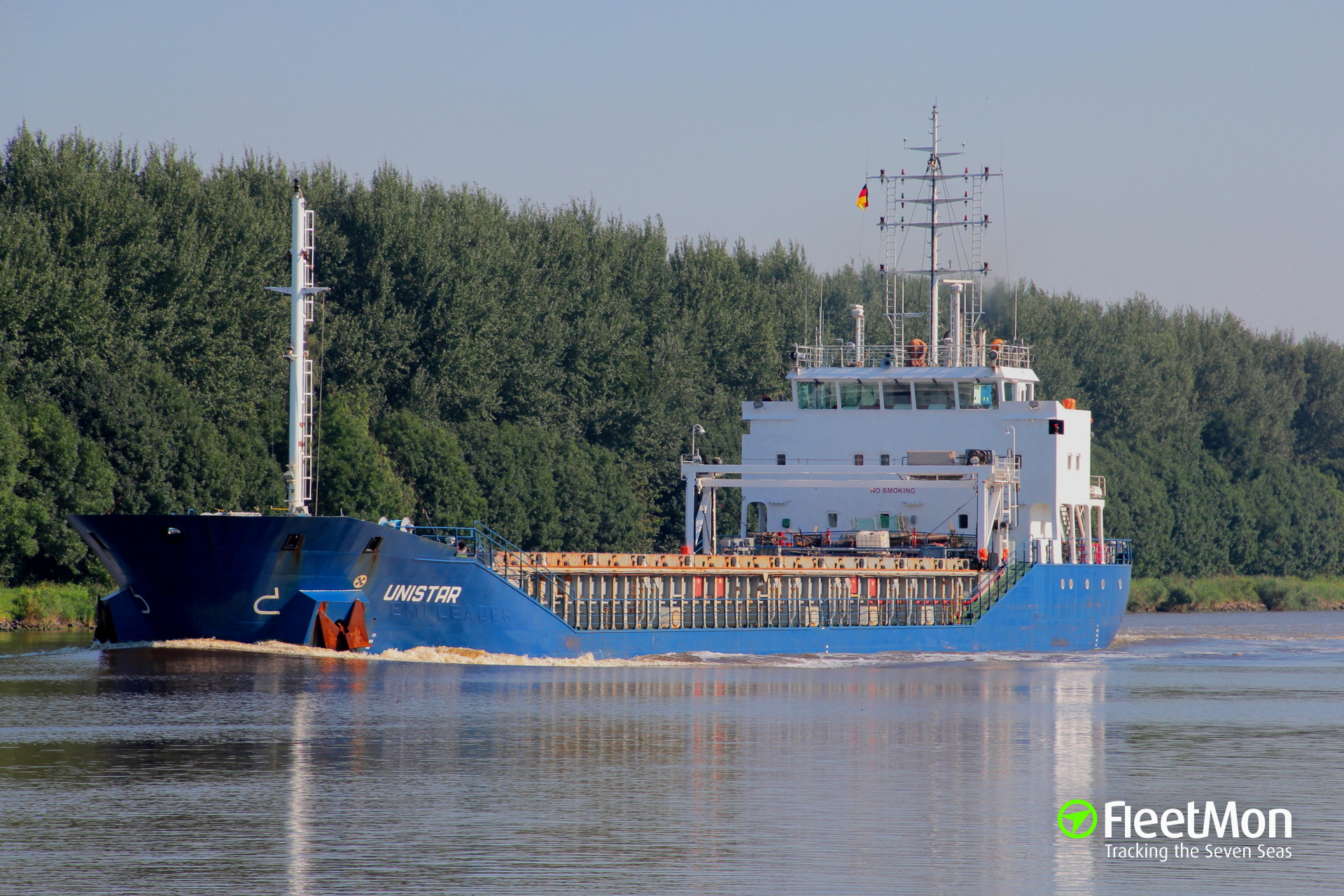 General cargo vessel Unistar grounding, Sweden