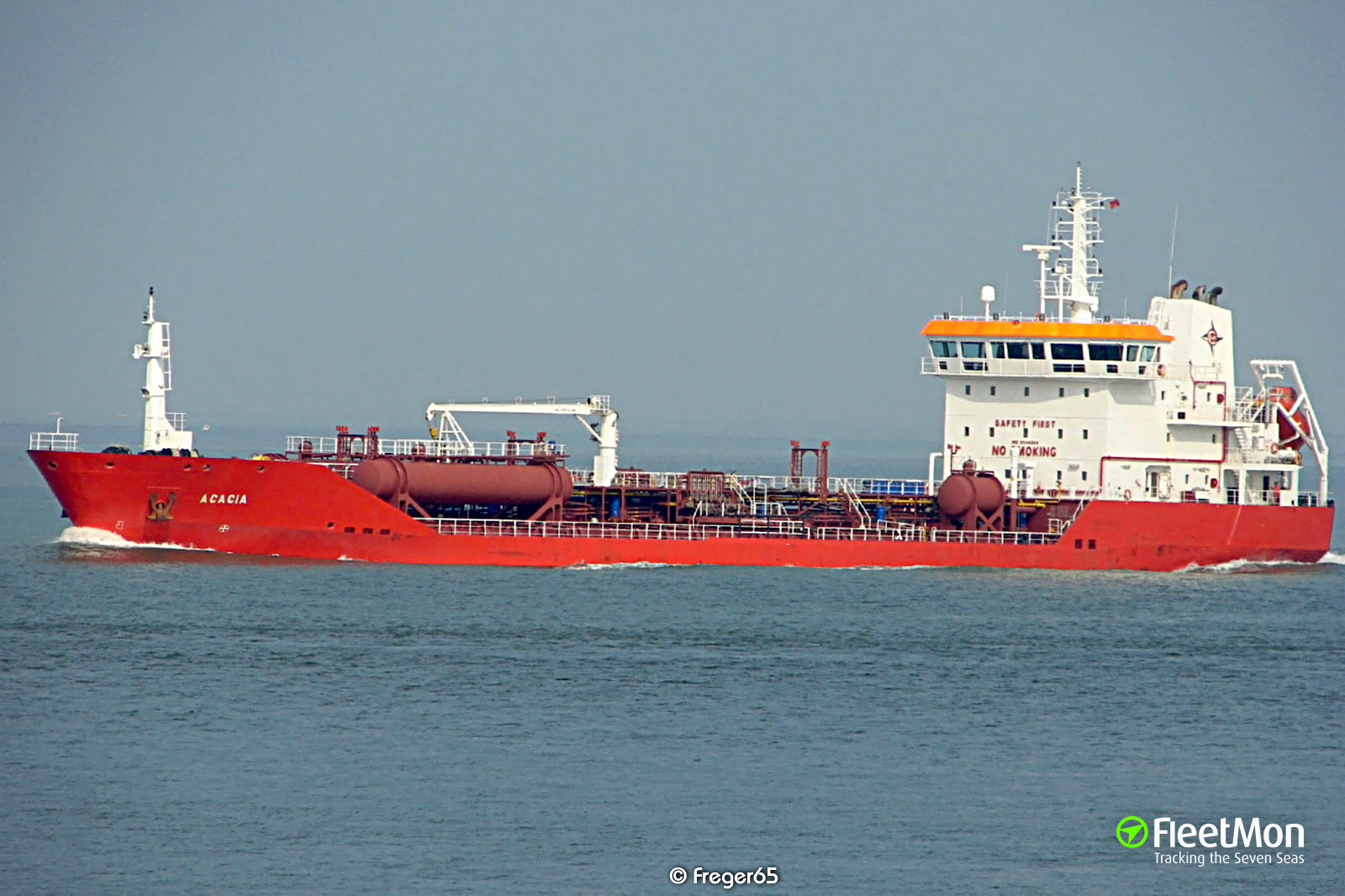 Tanker USICHEM disabled after fire, Mediterranean