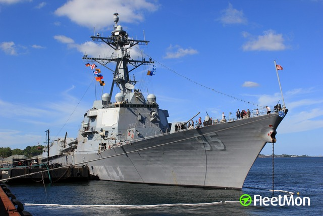 Vessel USS JAMES E WILLIAMS