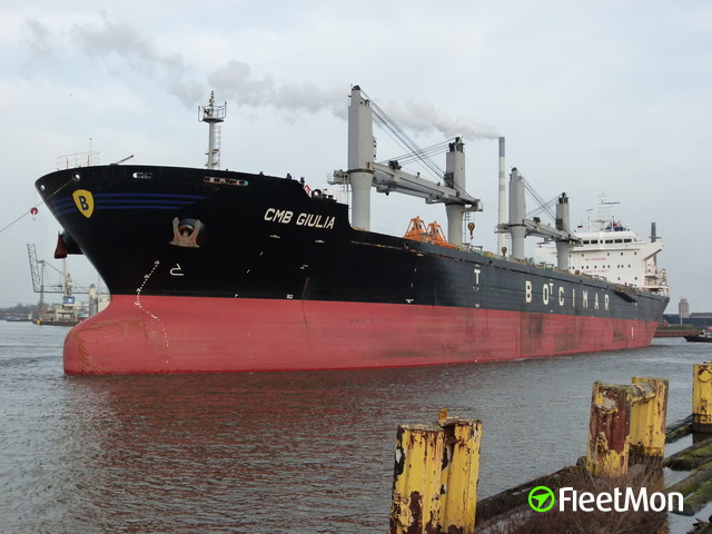 Greek bulk carrier attacked, 9 crew kidnapped