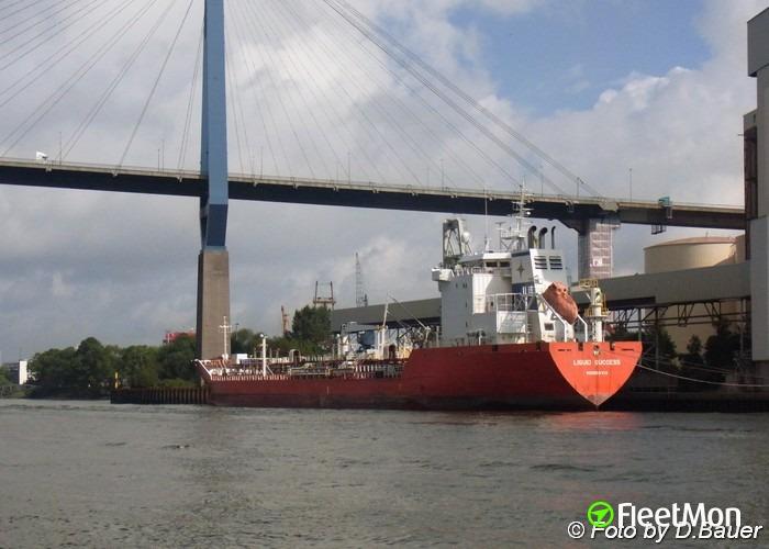 Three Greek tanker arrested due to debts: Liquid Succes, Liquid Fortune and Liquid Silver
