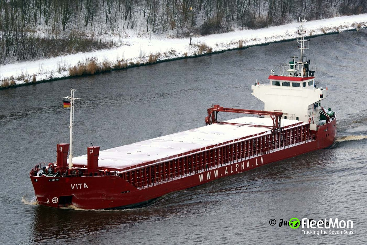 Latvian cargo ship disabled in Celtic sea
