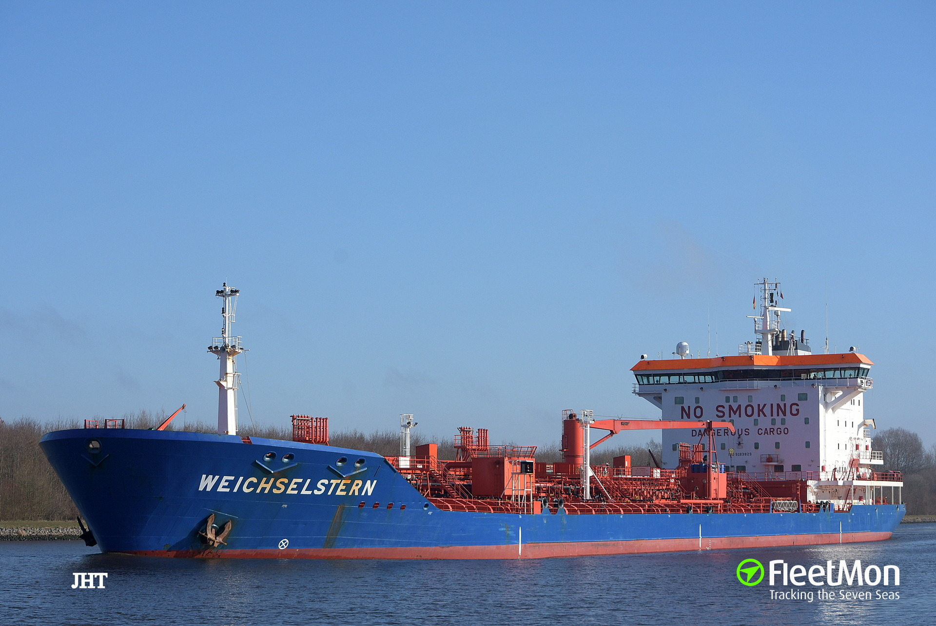 Two engineers suffered burns in explosion on board of WEICHSELSTERN