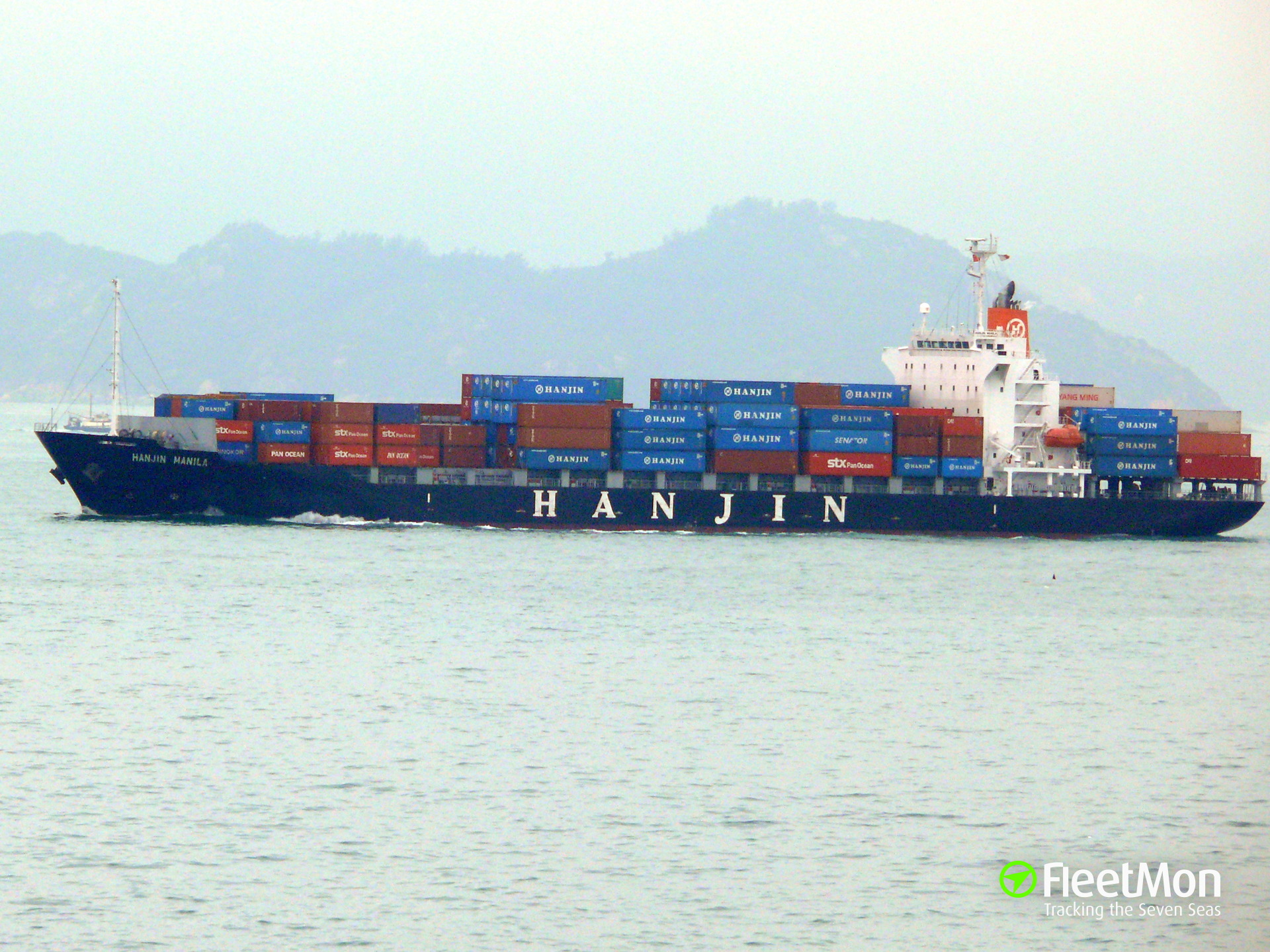 Container ship VAN MANILA arrested after deadly collision which claimed 12 lives, Shanghai