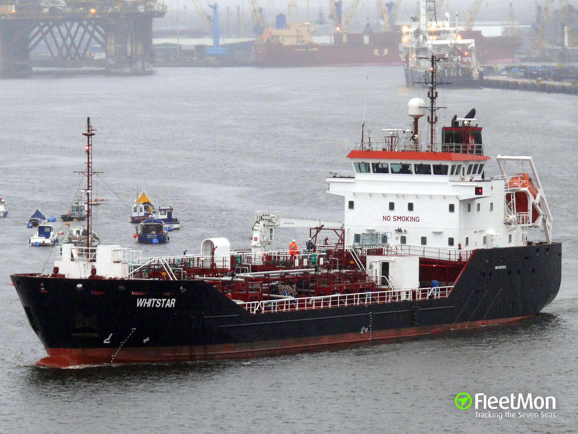 Tanker taken to Brest after breakdown