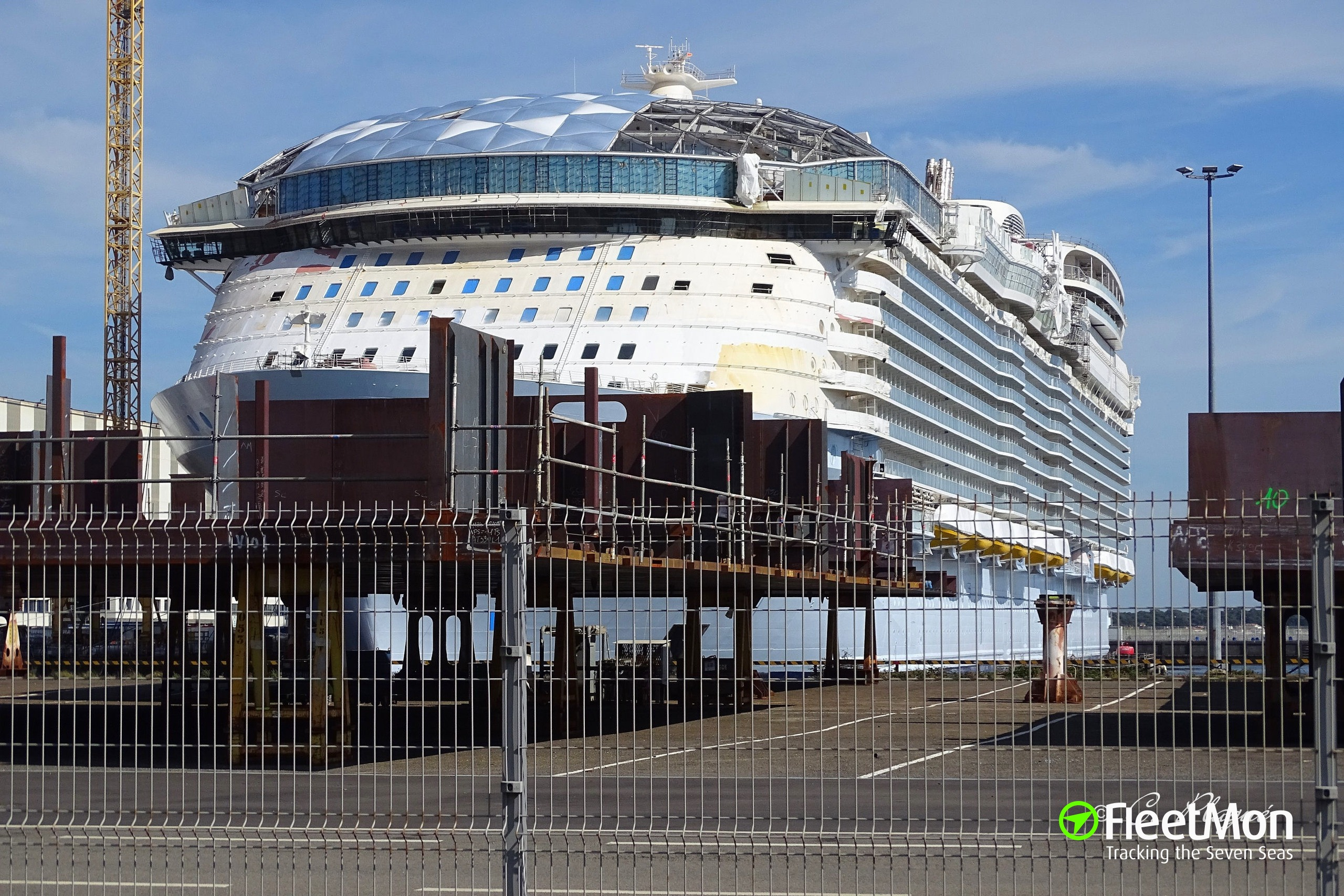 Photo Of Wonder Of The Seas Imo 9838345 Mmsi 227022600 Callsign Fnax Taken By Plague