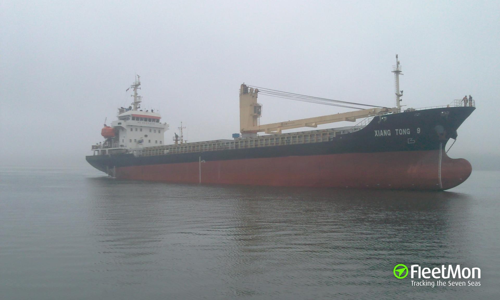 General cargo vessel Xiang Tong 9 grounding, Sakhalin