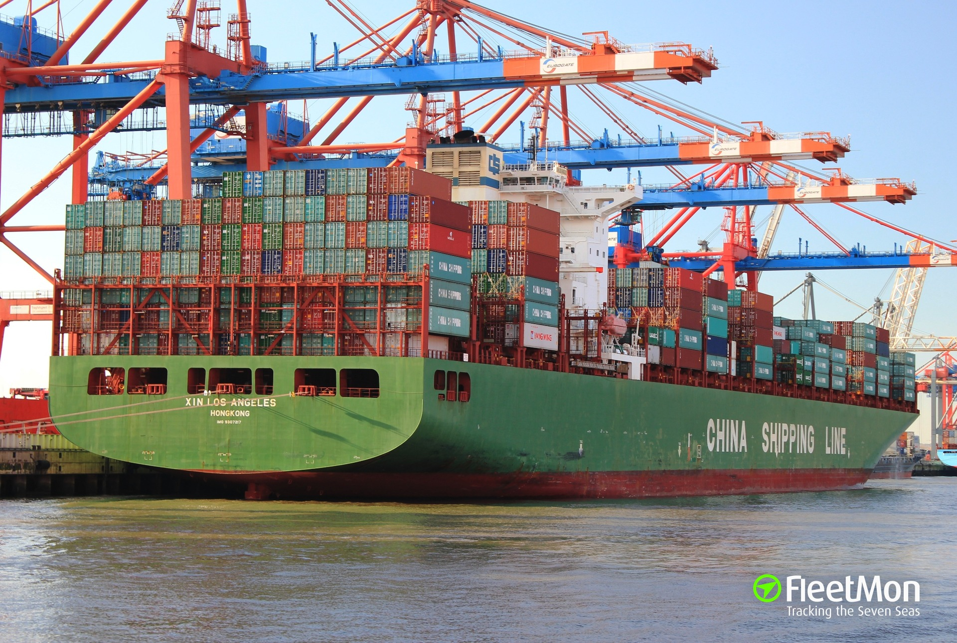 XIN LOS ANGELES (Container ship) IMO 9307217