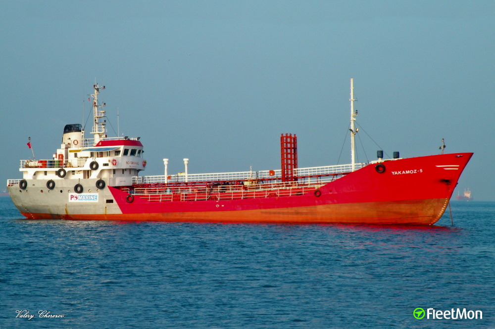 ​Tanker YAKAMOZ 5 caught fire in Sea of Marmara