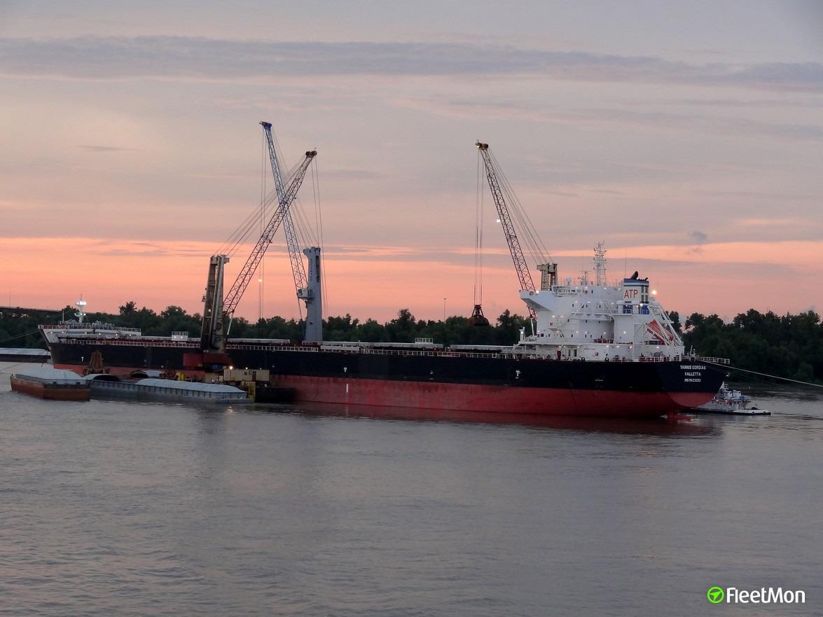 Bulk carrier YANNIS GORGIAS grounding, China