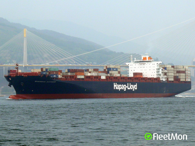 Container ship YANTIAN EXPRESS fire UPDATE Jan 20